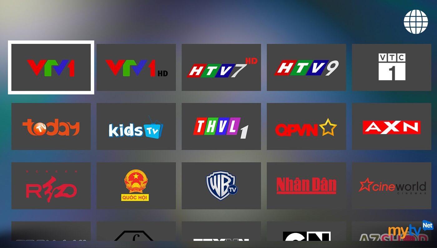 Ứng dụng xem tivi trực tuyến MyTV Net