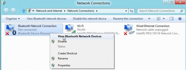 Thiết lập liên kết Bluetooth trên laptop Windows 7