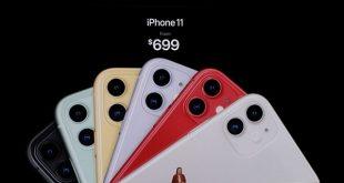 Giá bán iPhone 11 chính thức