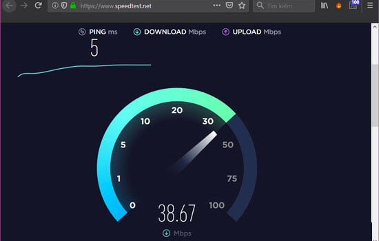 Kiểm tra tốc độ mạng trên máy tính (5)