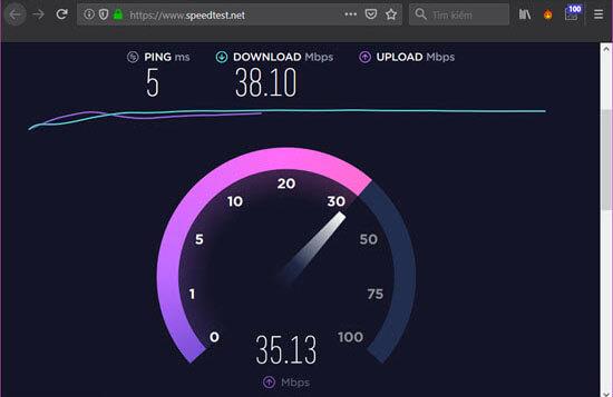Kiểm tra tốc độ mạng trên máy tính (6)