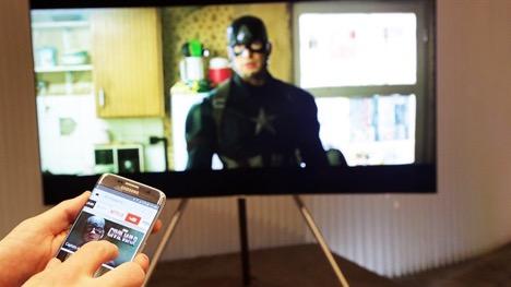 Điện thoại Android phát triển rất nhiều ứng dụng giúp kết nối điện thoại và tivi tiện lợi