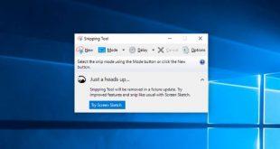 Công cụ chụp ảnh màn hình Snipping Tool có sẵn trên Windows