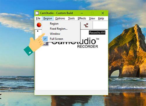 Phần mềm Camstudio