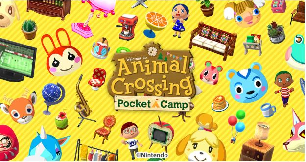 Game mobile Animal Crossing: Pocket Camp quen thuộc