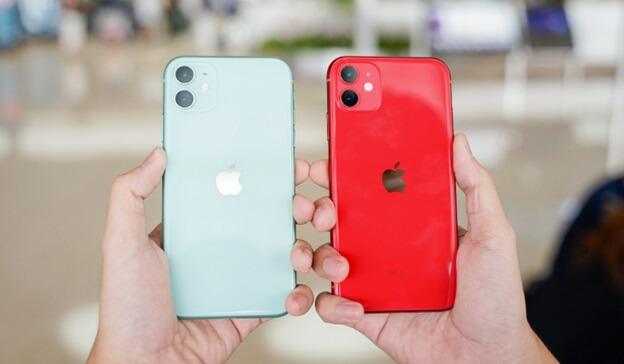 Cụm camera kép chất lượng trên iPhone 11