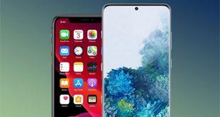 Galaxy S20+ và iPhone 11 Pro.