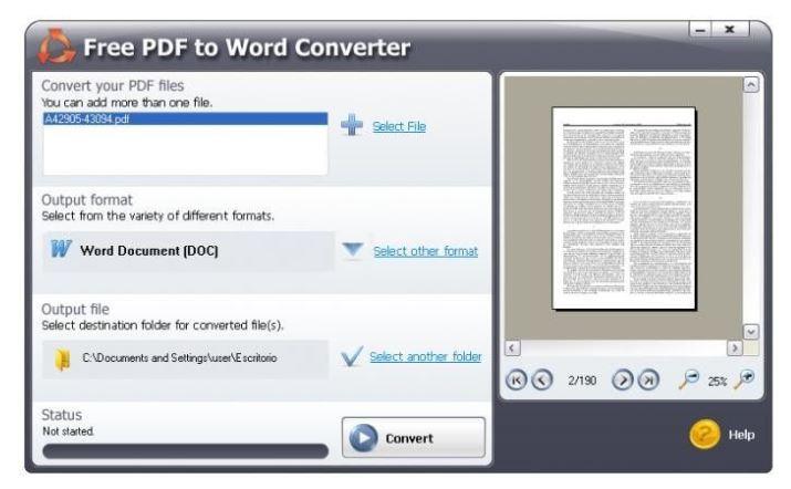 Công cụ chuyển đổi file Convert PDF to Word nhanh chóng