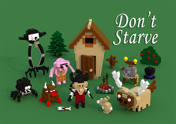 Game Don't Starve.
