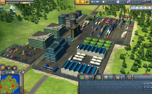 Industry Empire tập trung việc phát triển công nghiệp của thành phố