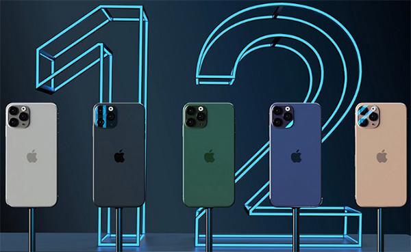 iPhone 12 có mấy màu