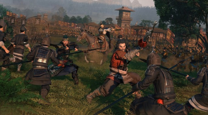Webgame Total War: Three Kingdoms